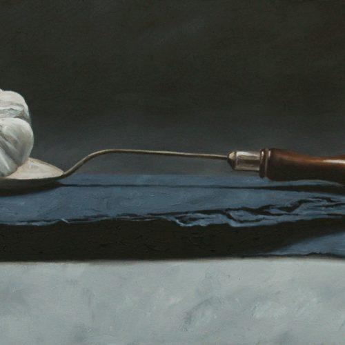 166. Garlic on Spoon