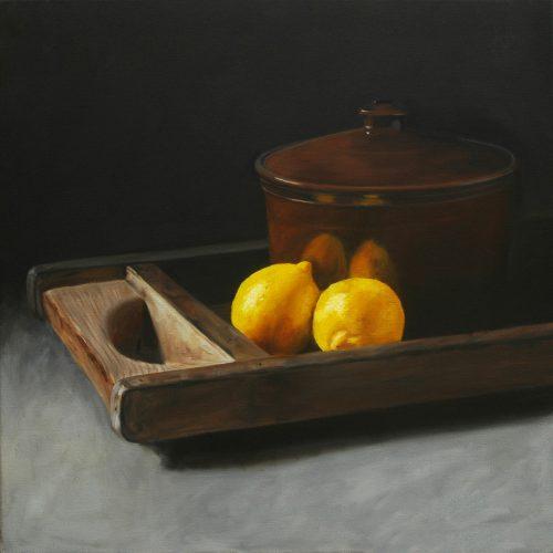 176. Lemons & pot