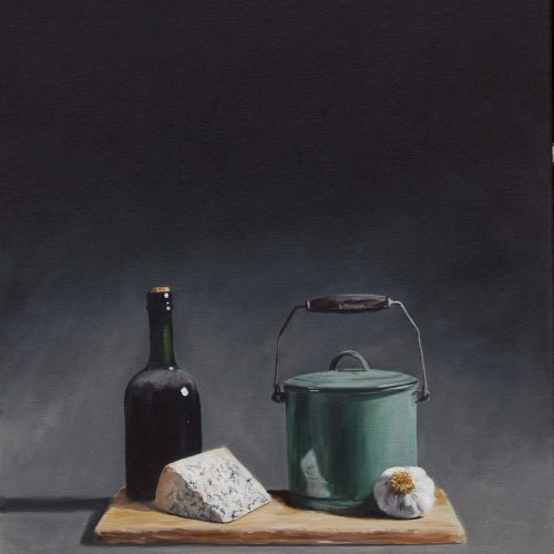 183. Bottle, Cheese & Stew Pot