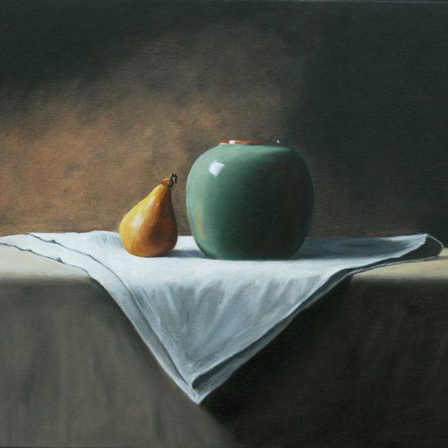 193. Gourd & Vase