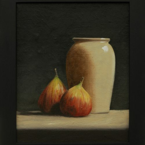 194. Figs with Vase