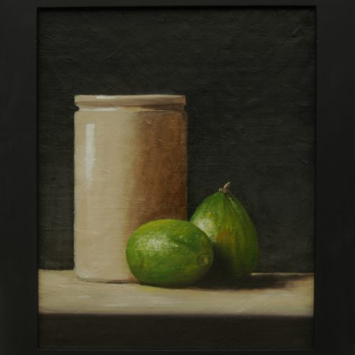 195. Limes with Vase