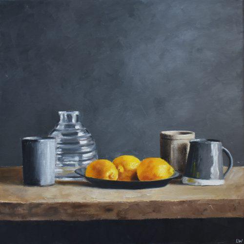 206. Lemons & Vases