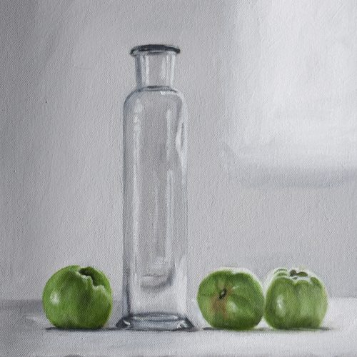 222. Flask with Green Apples