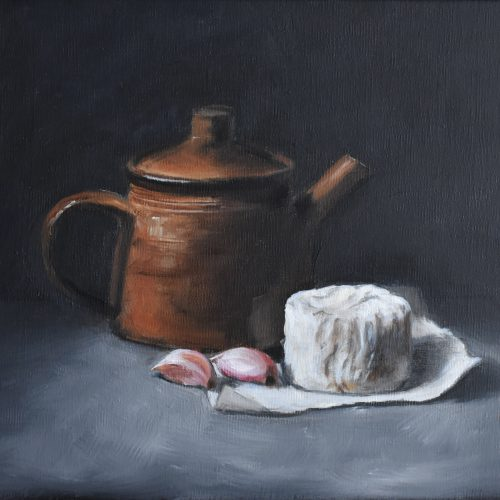 235. Teapot, Garlic & Cheese