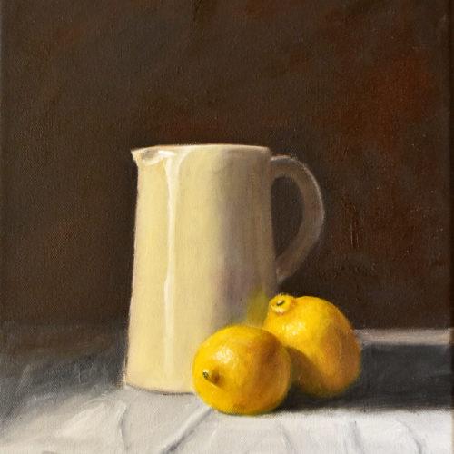 246 Jug with Lemons