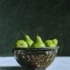 287 Pears in Metal Bowl